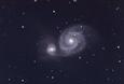 M51 子持ち星雲(銀河系外星雲)