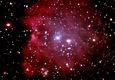 NGC2174 モンキー星雲(散光星雲)